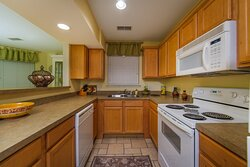 Fully equipped kitchen in your 2 bedroom villa