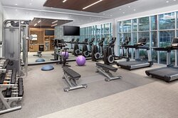 State of the Art 24 hr fitness center withLife Fitness Equipment