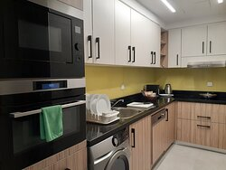 Kitchen of 1-Bedroom Deluxe