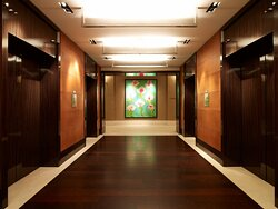 Elevator Lobby at Ground Floor