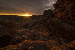 Sunrise on the nature reserve