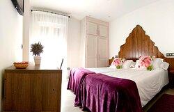 Habitacion 201 dos camas