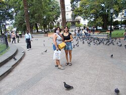Plaza 9 de Julio Salta