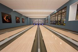 Enjoy a game of bowling onsite *fees apply