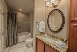 Luxurious Signature Collection guest bathroom