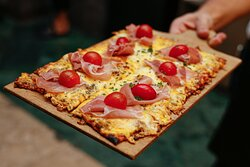 Parma Ham Pizza - The best in town!