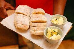 We bake our own ciabatta bread fresh daily