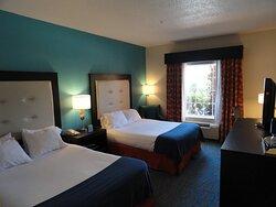 Holiday Inn Express Destin FL MidBay Bridge Two Queen Guest Room