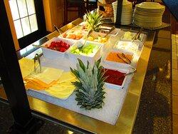 Fresh Fruit Complimentary Breakfast Buffet
