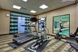 Fitness Center open 7 days a week 5:30am to 11pm