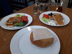 hamburger ve tost çeşitleri
