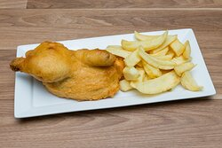 Half Chicken with chips