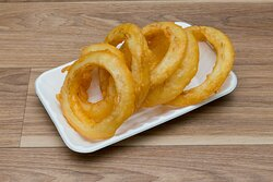 Portion of Onion Rings