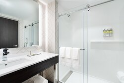 Beautiful lighting & the best amenities in each bathroom.