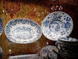 Фарфоровая посуда, из которой ели цари.