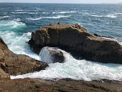 Cape D'Aguilar Marine Reserve  - the waterfall