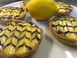 Tartelette au citron maison