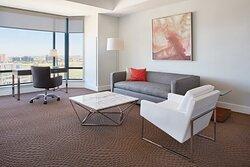 Premium Penthouse Suite Living Room