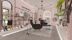 Cozy environment and great luxury shopping experience