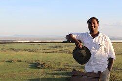 Our director in Mara Serena Lodge
