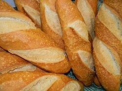 Pão Italiano, com a fermentação natural.........
