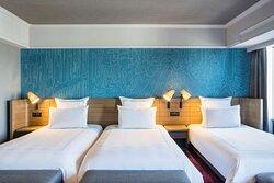 Swiss Executive Room Triple Bedroom