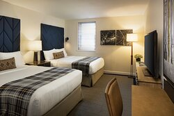 Unwind in our soft sheets and amenities.