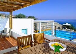 Thalassa Villa 3Bedroom Seafront Private Pool
