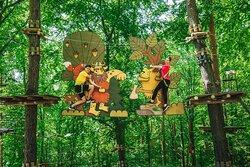 Trollandia Rope Park Gora Zar
