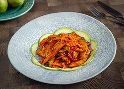 Spicy Raw Mango Salad