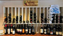 Our huge selection of wines