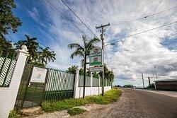 Entrance to Harbour View Boutique Hotel & Yoga Retreat