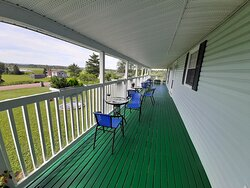 The 80 foot veranda