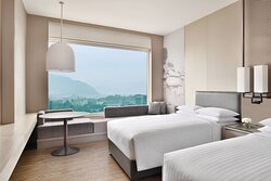 Twin/Twin Guest Room - Mountain View