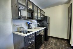 Our One Bedroom Suite Kitchen