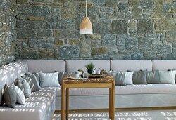 Honeymoon Coast Suites Outdoor Sofa