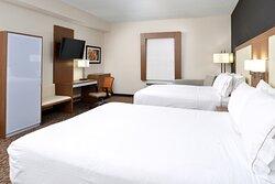 Double Queen Beds Guest Room