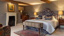 Our Badminton suite with its period oak beams