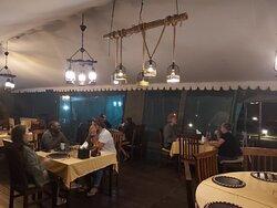 Dinner at Serengeti Heritage Camp