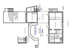 Casa Vacanze - le corti di aloa la  Planimetria della Casa Vacanze