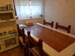 Casa Vacanze - le corti di aloa - zona pranzo interna