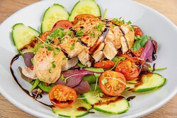 Fresh and tasty... our main course salads will satisfy every appetite.