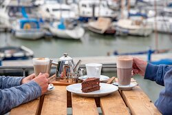 Enjoy views of the marina and the beautiful River Orwell from our spacious balcony... it's the perfect place for coffee and cakes, al fresco dining, family gatherings and more than its fair share of dramatic sunsets!