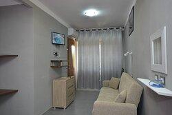 Panorama camera letto Nettuno