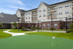 Sport Court and Putting Green