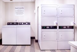 Enjoy our 24 hour laundry facility for your convenience