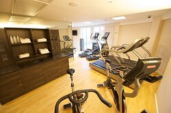Mini Gym is available free of charge