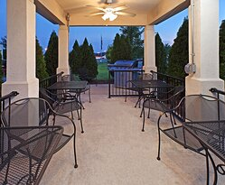 Enjoy the beautiful outdoors on our Guest Patio