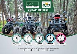 Quad bikes for rent