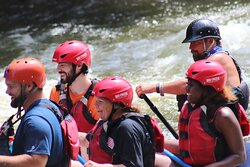 Get your close up taken on your whitewater adventure!